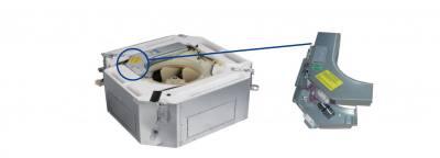 جعبه برق بهینه سازی شده یونیت داخلی VRF کاستی چهار طرفه کاستی چهار طرفه در یونیت داخلی VRF گرین مدل کاستی چهار طرفه جعبه برق ضد حریق قابلیت تعمیر و نگهداری آسان را دارا میباشد. این یونیت ها در 11 ظرفیت تولید و به بازار ارائه میشوند. گردش هوا در این یونیت به صورت هشت طرفه میباشد.