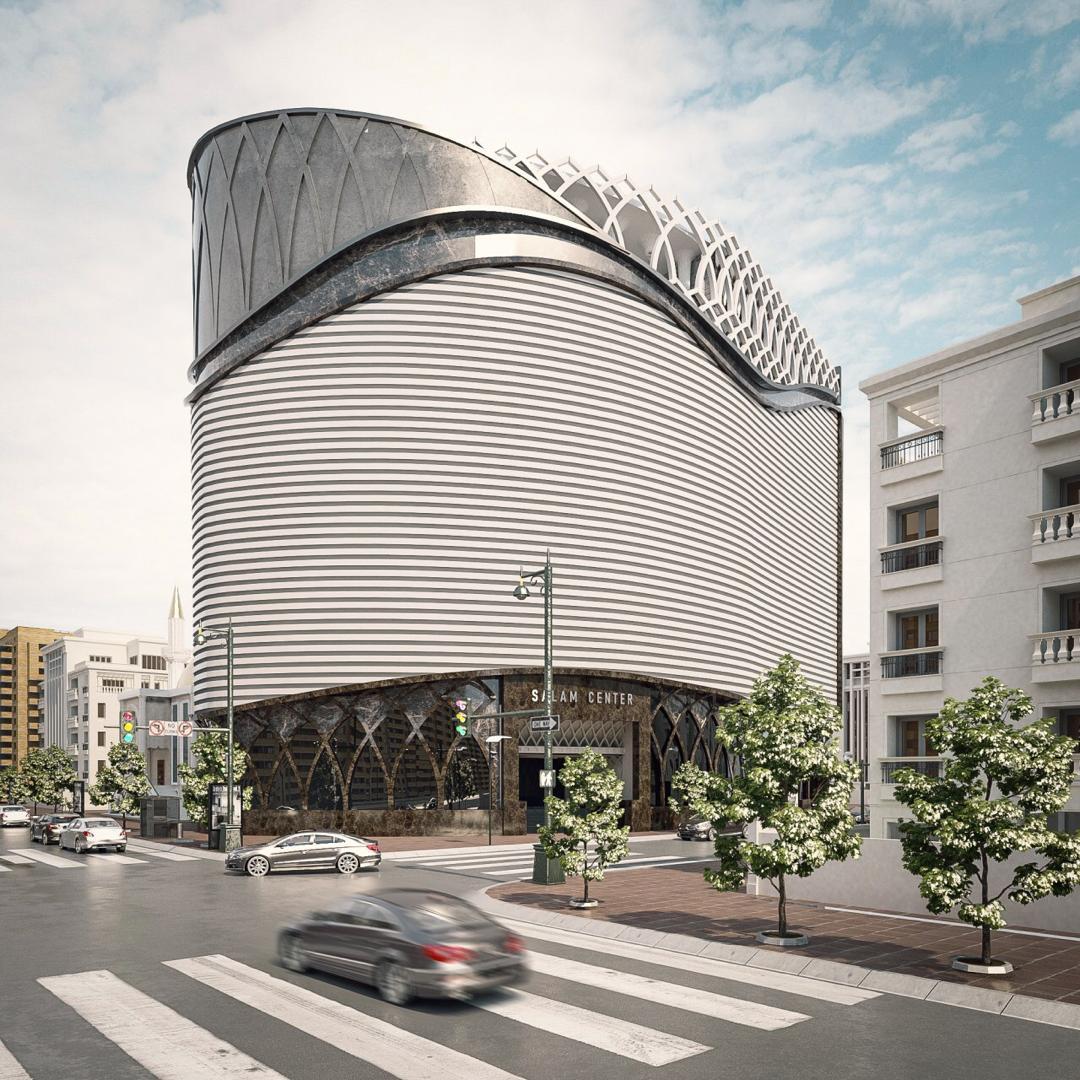 پروژه تهویه مطبوع گرین مرکز خرید سلام در قم