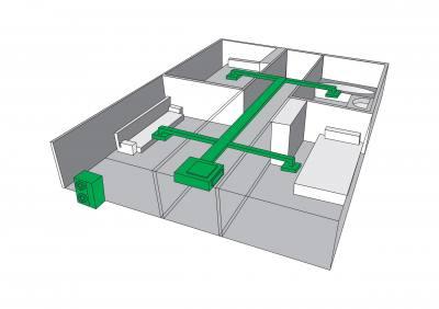تامین جریان هوا برای فواصل زیاد سقفی توکار با فشار استاتیکی بالا یونیت داخلی VRF گرین مدل سقفی توکار با فشار استاتیکی بالا در 8 ظرفیت 38-42-48-52-76-96-154-192 Btu/h تولید و به بازار ارائه میگردد. ظرفیتهای 154 و 192 با برق سه فاز و باقی ظرفیتها با برق تکفاز کار میکنند.